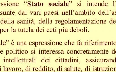 Ripensare il welfare