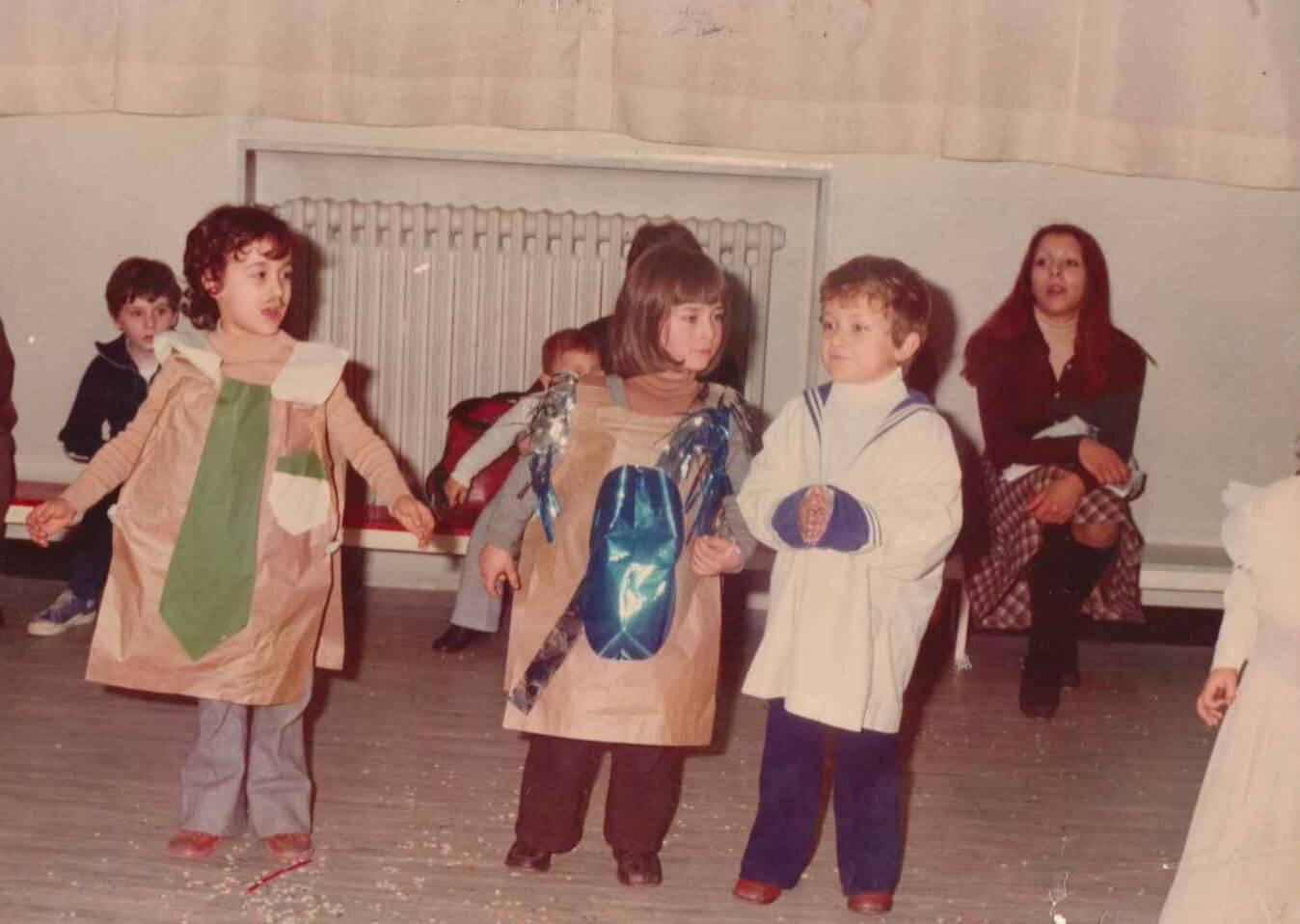 lacomunita girotondo bambini mascherati