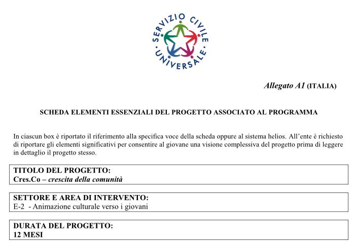 Progetto Cresc.Co